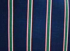 Vintage Navy with White Red and Green 1/8 by DorisSardelisFabrics, $10.00