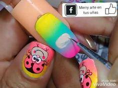Nail Art Videos, Mayo, Pedicure, Nail Designs, Hair Beauty, Nails, Youtube, Nail Design, Pretty Nails