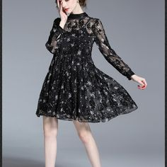FASHION FLORAL CHIFFON TWO-PIECE SHORT DRESS  Old: $72.28 Now: $44.78