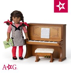 Fit For 18/'/' American Girl Melody/'s Travel Essentials Acccessories Rose Case Box