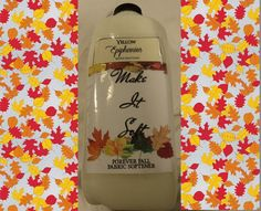 FOREVER FALL Make It Soft Fabric Softener by YellowEpiphanies
