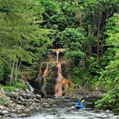 Adventure awaits around every turn! Kayak exploration @the_springs_costa_rica at Arenal Volcano Costa Rica! #adventures #crexperts #kayaking