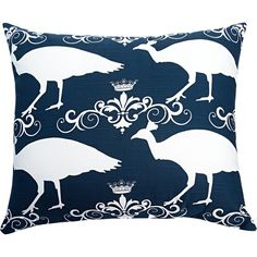 Peacock Accent Cotton Throw Pillow Reviews ❤ liked on Polyvore featuring home, bed & bath, bedding, peacock bedding, cotton bed linen and cotton bedding