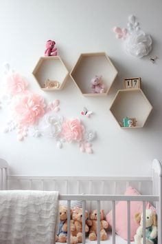 Excited to share this item from my shop: White and pink paper flowers for nursery wall decor - Nursery paper flowers - Girl room paper flowers - Over the Crib Paper Flower Set Butterfly Wall Decor, Flower Wall Decor, Flower Decorations, Nursery Wall Decals, Baby Nursery Decor, Nursery Ideas, Dining Room Wall Decor, Room Themes, Decorating Blogs