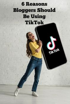 6 Reasons Why Bloggers Should Be Using TikTok. If you're a blogger that is trying to increase your reach you should consider using the rising social media platform TikTok to get your content seen by new eyes and gain more readers to your blog. 1 Billion Dollars, Animal Nutrition, New Readers, Purebred Dogs, Work From Home Tips, Diy Dog, Being Used, Gain, You Got This