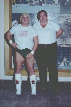 Dusty Rhodes and Gorilla Monsoon