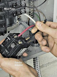 Installing an Electrical Subpanel