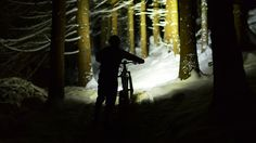 Night flight – hitting up the bike park in the dark!