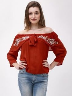 e1343fb7918a42 Tops for Girls - Buy Stylish   Designer Ladies Tops Online in India