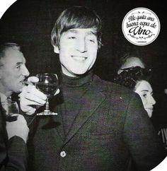 #JohnLennon #Vino #Tinto
