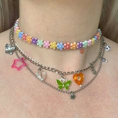 Cute Jewelry, Beaded Jewelry, Jewelry Accessories, Beaded Necklace, Bold Jewelry, Funky Jewelry, Trendy Jewelry, Summer Jewelry, Simple Jewelry