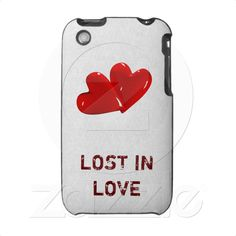 """Lost In Love"" Hard Shell Case for iPhone 3G/3GS  http://www.zazzle.com/lost_in_love_hard_shell_case_for_iphone_3g_3gs_speckcase-176909230483597365 Take it today only with 50% discount (off all cases) with code CASEOFMONDAY"