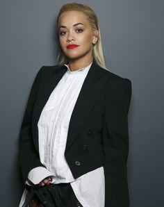 Rita Ora's red lip is giving us lipstick-envy