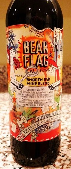 Wine Recommendation:  Bear Flag Smooth Red Blend