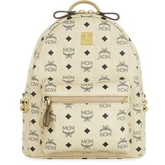 3730c87a3cc6 MCM Small Stark Backpack ( 660) ❤ liked on Polyvore featuring bags