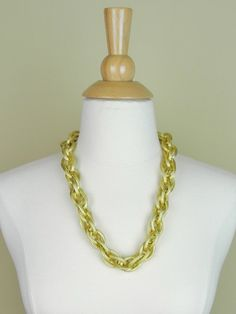 Chunky Chain Necklace in Matte Gold - $20.24 : FashionCupcake, Designer Clothing, Accessories, and Gifts