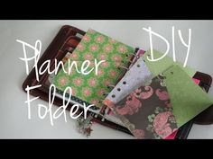 Folder Divider Tutorial DIY Franklin Covey Compact / Filofax Personal Planner - YouTube