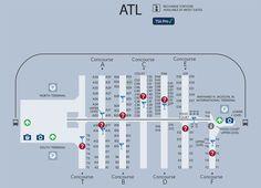 Delta Atlanta Map.87 Best Atlanta Airport Images In 2019 Atlanta Airport Airplanes