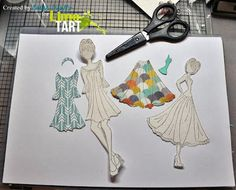 Karyn's Crafting Obsession: Paper Piecing with Prima Doll Stamps!