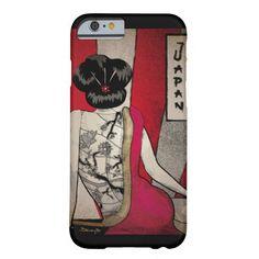 Geisha Tattoo iPhone 6 Case