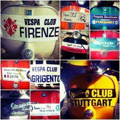 #VWD2014 Vespa Club from all over the world in #mantova #vespa