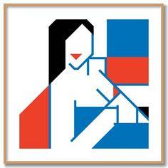 NUDE JOJO limited edition fine art print by bobkessel