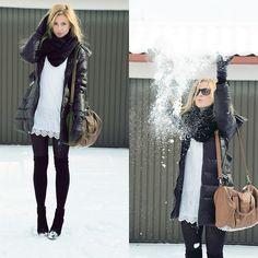 Oh snow. (by Paula Jagodzinska) http://lookbook.nu/look/3047515-Oh-snow