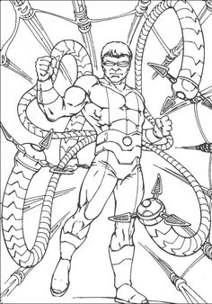 Spiderman Gratuit coloring picture for kids | Spiderman ...