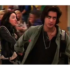 Jade: I'm done talking about it! Beck: No, we're not!  Beck's eyes lol