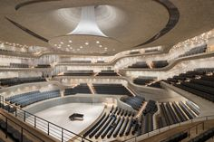 What Happens When Algorithms Design a Concert Hall? The Stunning Elbphilharmonie   Herzog and De Meuron designed the main concert hall of Hamburg's recently opened Elbphilharmonie with the help of algorithms.   Credit: Iwan Baan   From Wired.com