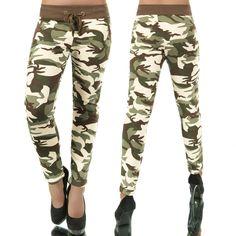59d70add63 Világos zöld terepmintás nadrág - Női ruha webáruház, női ruhák online - HG  Fashion