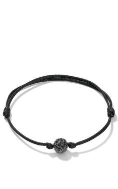 Shamballa jewels Black Diamond Orb Bracelet