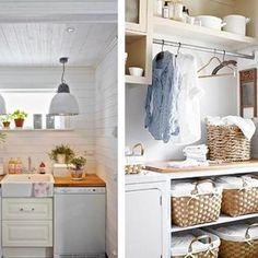 Ideas para decorar el cuarto de la colada lavadero for Cuartos de colada y plancha