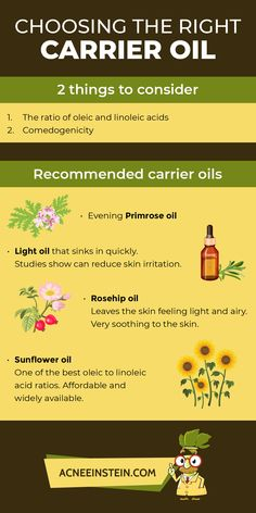 Choosing the right carrier oil - Olive Oil Ideen Essential Oil Carrier Oils, Best Essential Oils, Oil Light, Home Remedies For Acne, Choose The Right, Evening Primrose, Rosehip Oil, New Tricks, Olives