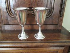 Pr. Sterling Goblets By Alvin from topdraw on Ruby Lane