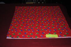 """100% Cotton Remnant Christmas Wish 23""""x 44"""" by monroe2830 on Etsy"""