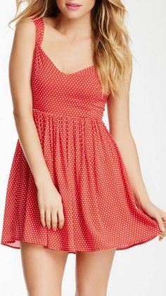 Retro Polkadot Dress ♡ SO cUte!