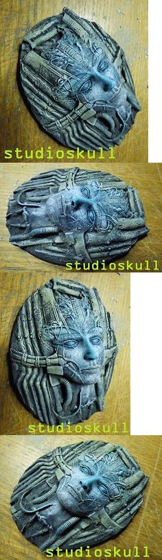 40K Terrain and Scenery 152940: Large Oval Resin Base Queen Avatar A Flyer Warhammer 40K - Pro Painted -> BUY IT NOW ONLY: $50 on eBay!