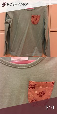 Hanna Andersson long sleeve shirt Good condition with no stains or holes. Hanna Andersson Shirts & Tops Tees - Long Sleeve