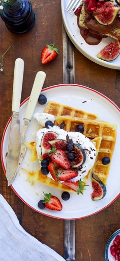 Süß, fruchtig, schokoladig: Probiert unser Waffel-Rezept! #tagderwaffel #waffeln #edeka