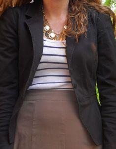 A different way to wear your work blazer