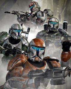 Star Wars Clones, Star Wars Sith, Star Wars Fan Art, Star Wars Concept Art, Star Citizen, Star Wars Commando, Guerra Dos Clones, Republic Commando, Neck Tatto