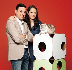 El amor por su gato, llevó a esta pareja a abrir La Gatería, una tienda boutique especializada en los mininos y en sus dueños que ya cuenta con dos sucursales en DF.