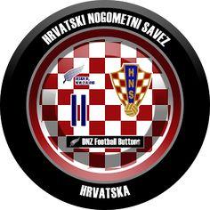 DNZ Football Buttons: Seleção da Croácia
