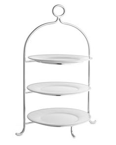 Presidio Silver Plated 3-Tiered Plate Stand  sc 1 st  Pinterest & Pin by Helena Reduto on with beautiful design \u003c\u003e com bonito design ...