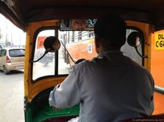 You're guaranteed a wild ride on an auto-rickshaw in India!