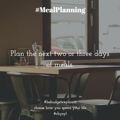 #mealplanning Journal Prompts, Meal Planning, Budgeting, Mirror, Home Decor, Homemade Home Decor, Mirrors, Budget Organization, Diary Ideas