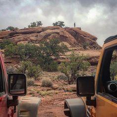 #phoenix4x4 #jeep #jeeping #jeeplife #instajeep #itsajeepthing #4x4life #utah #igdaily #instadaily #view #scenic #fun #enjoy #behappy (at Metal Masher Trail Moab, Utah)