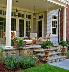 i could spend many a nights (and drink many bottles of wine) on that porch