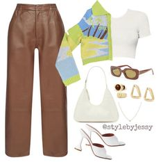 Cute Fall Outfits, Retro Outfits, Cute Casual Outfits, Simple Outfits, Stylish Outfits, Kpop Fashion Outfits, Tomboy Fashion, Girl Outfits, Streetwear Fashion